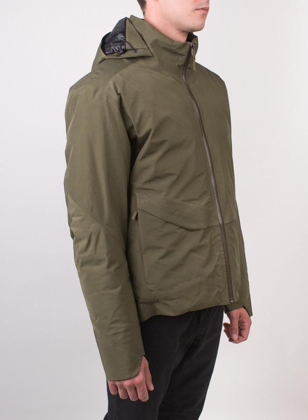 Men S Arc Teryx Veilance Node Down Jacket Moss Garmentory