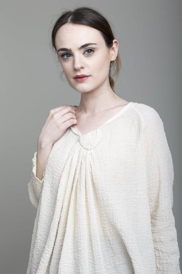 Elsa Esturgie Cannelle Blouse - Ecru
