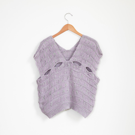 Atelier Delphine Capri Knit Top - Lavender