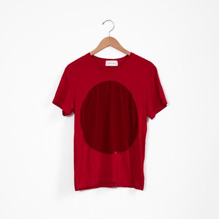 Correll Correll Velvet Circle Tee - red