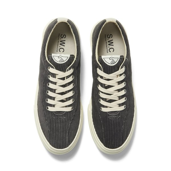 Unisex Stepney Workers Club Dellow Cord Sneakers - Grey
