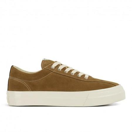 Unisex Stepney Workers Club Dellow Suede Sneaker - Taupe