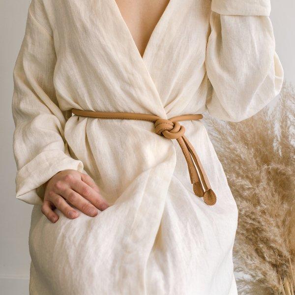 ARE Studio Knot Belt - Tan