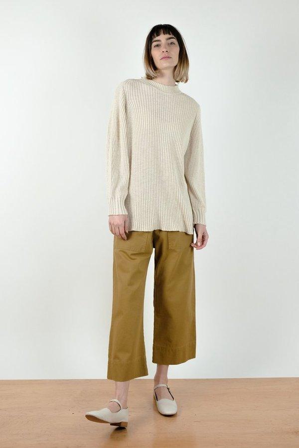Micaela Greg Alma Sweater - Salt