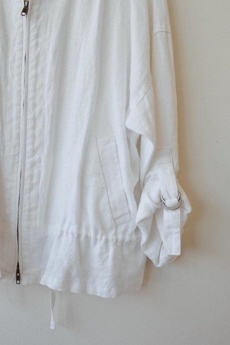 Pre-Loved Eileen Fisher Linen Jacket - White