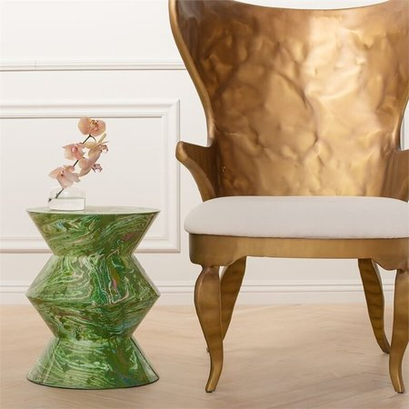 made goods raine stool - Lacquered Resin