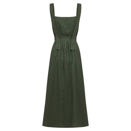 All That Remains Ophelia Dress in Forest