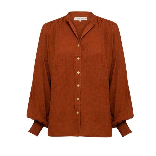 All That Remains Edie Shirt - Ochre