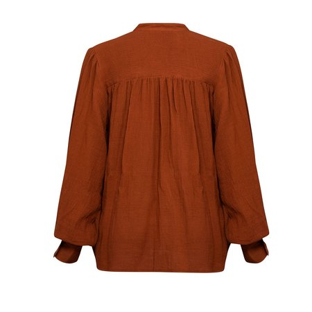 All That Remains Edie Shirt in Ochre