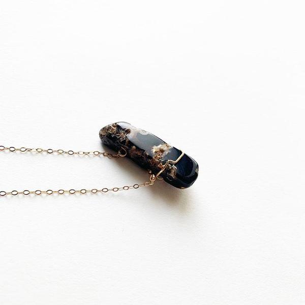 Coast Modern Jen's Necklace - 14k gold fill