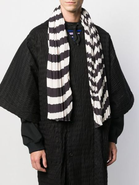 unisex Henrik Vibskov Jelly Scarf - black/white