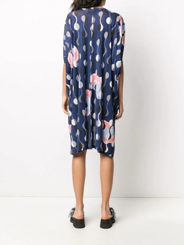 Henrik Vibskov No.4 OS Jersey Dress - Beginning Print