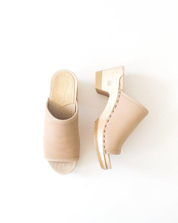 No.6 Daria Clog Mid Heel