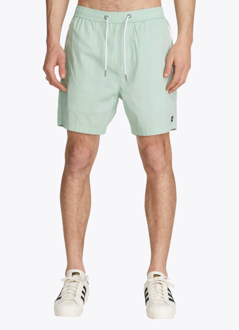 Men's Zanerobe Playa Del Active Short-Frost Green