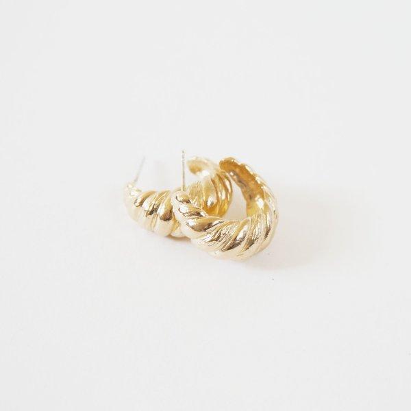 Deux Lions Laëtitia Hoops - 14k Gold Vermeil