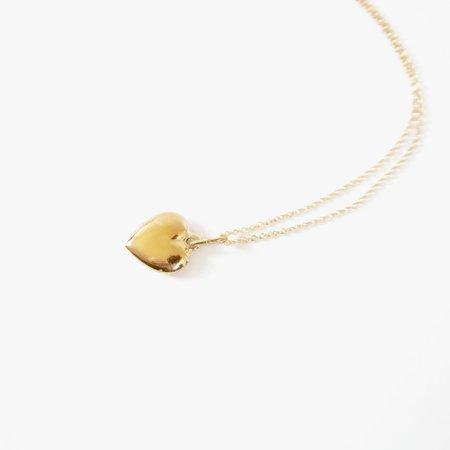 Deux Lions Mon Coeur Necklace - 14k Gold Vermeil