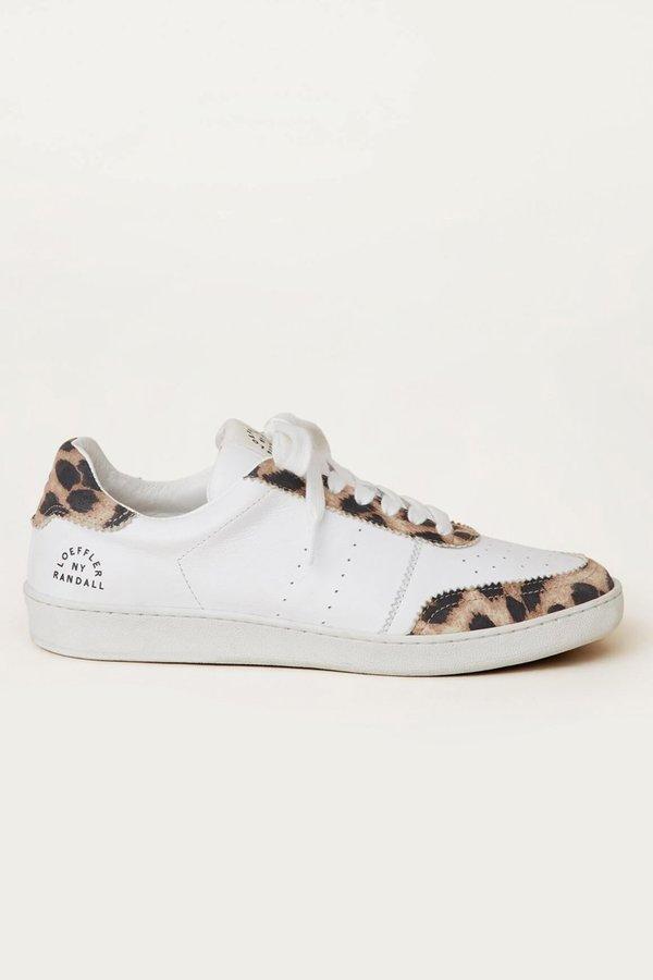 Loeffler Randall Keeley Low Top Sneaker - LEOPARD