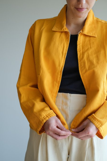 VINTAGE GOLF JACKET - YELLOW