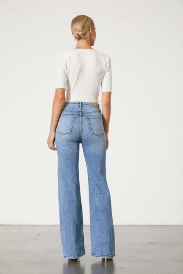 GRLFRND Carla High Rise Flare - Got To Be Real