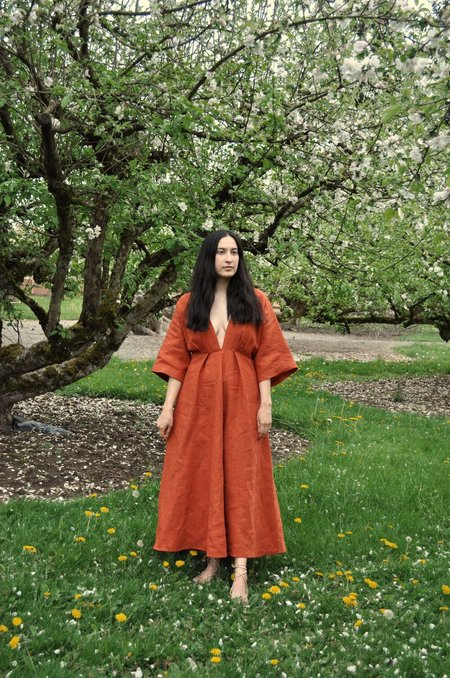 Cocobolo Florence Dress - Rust