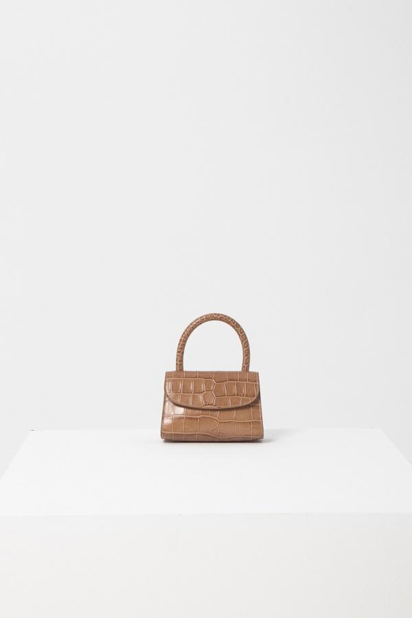 BY FAR Mini Leather Bag
