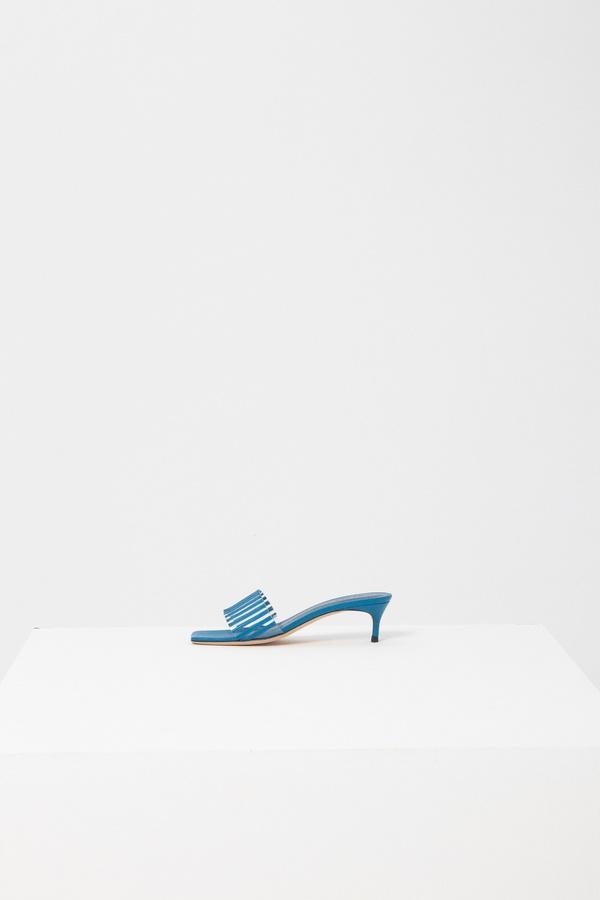 BY FAR Mei Leather Sandal