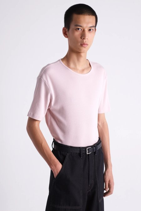 Lemaire Rib t-shirt - nude