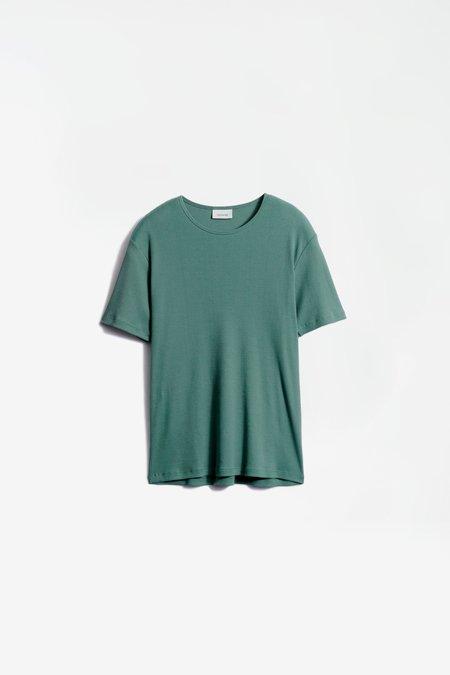 Lemaire Rib t-shirt - sauge