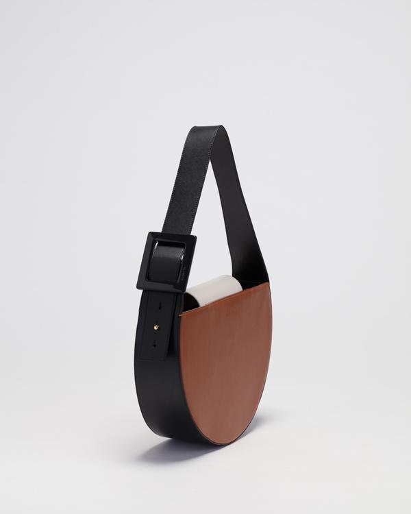 Audette Oval Bag - Camel