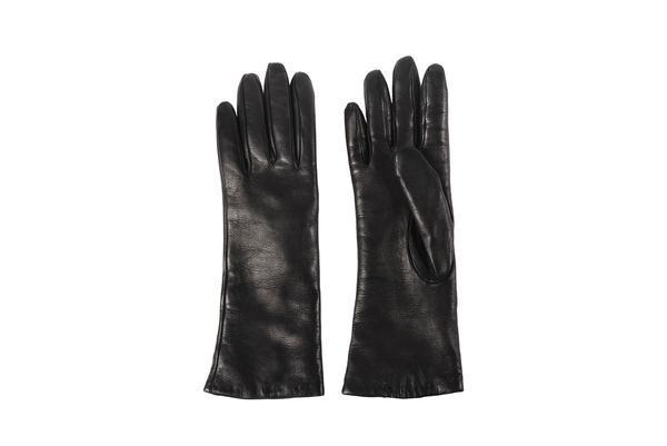 Clyde Lambskin Gloves - Black