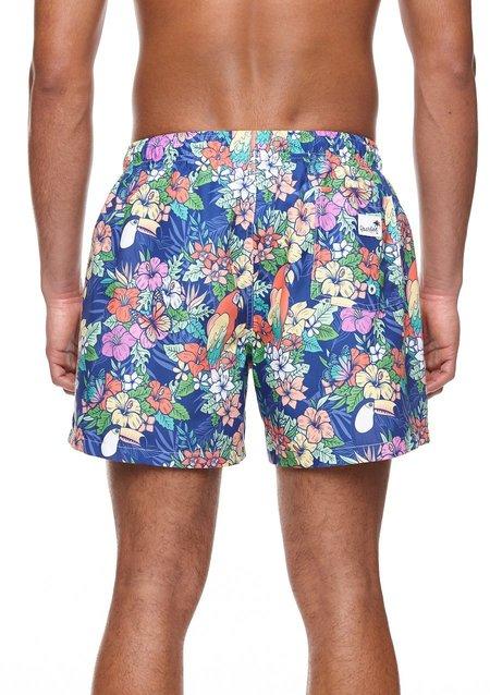 Boardies Jungle Mid Length Swim Shorts
