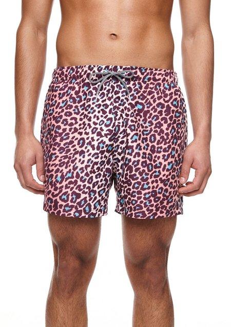 Boardies Mid Length Swim Shorts - Leopard