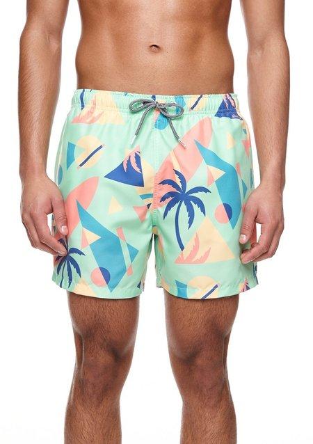 Boardies Overlay Mid Length Swim Shorts