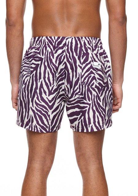 Boardies Mid Length Swim Shorts - Zebra