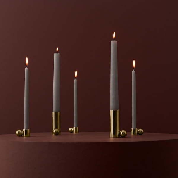 OYOY Palloa Candleholders - Brass