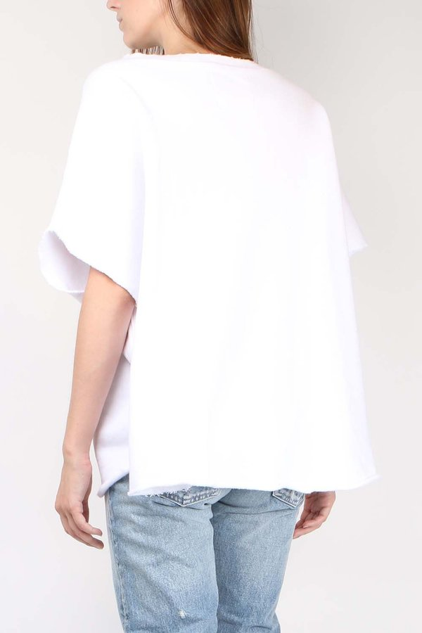 Tee Lab Capelet - Whiteout