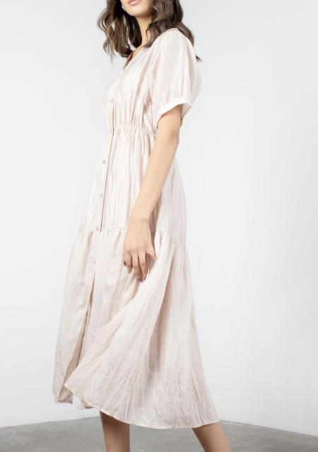 Mod Ref Savannah Dress - Dusty Pink