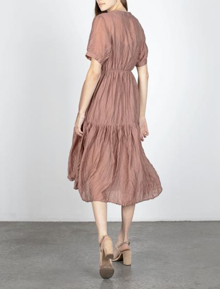 Mod Ref Savannah Dress - Dusty Rust