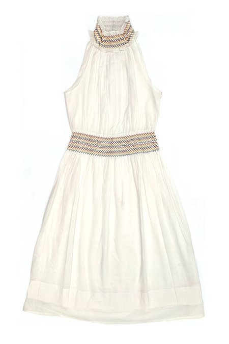 Warm Zelda Dress - Ivory