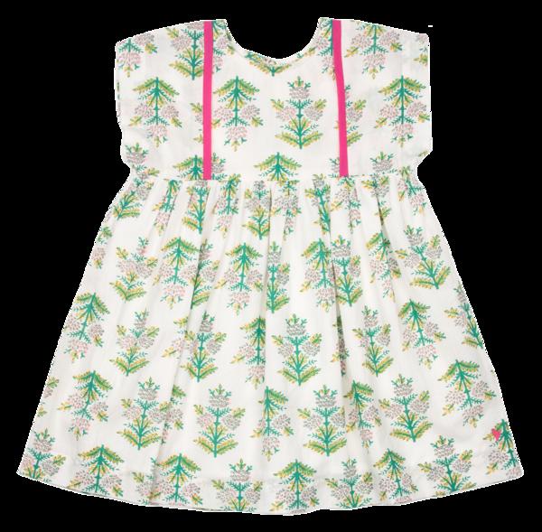 kids Pink Chicken Stacey Dress - Gardenia Jasmine Tree