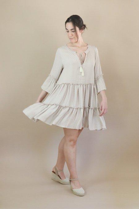 Traffic People Dew Dress - Cream