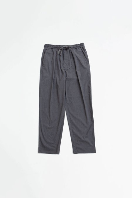 A Vontade Comfort wide easy trousers - charcoal