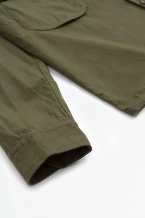 A Vontade Fatigue shirt jacket - olive