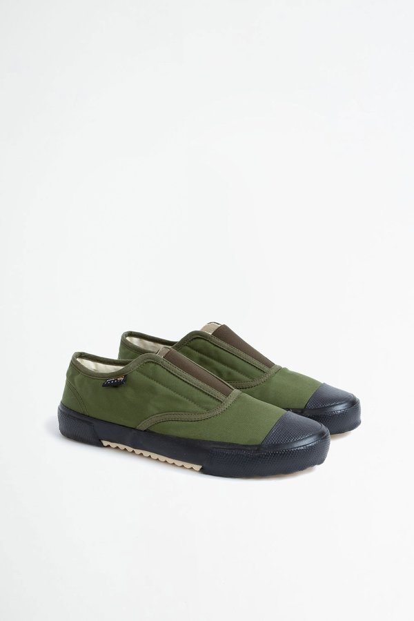 Reproduction of Found Italian military trainer - olive/black sole