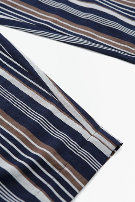 A Vontade Lax easy pants - navy stripes