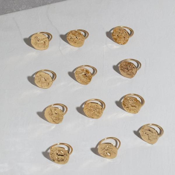 Studio Grun Aquarius Ring - 18K Gold