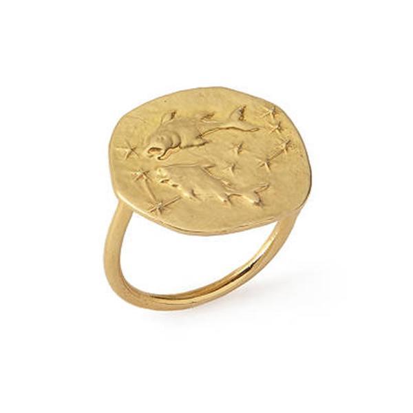 Studio Grun Pisces Ring - 18k Gold