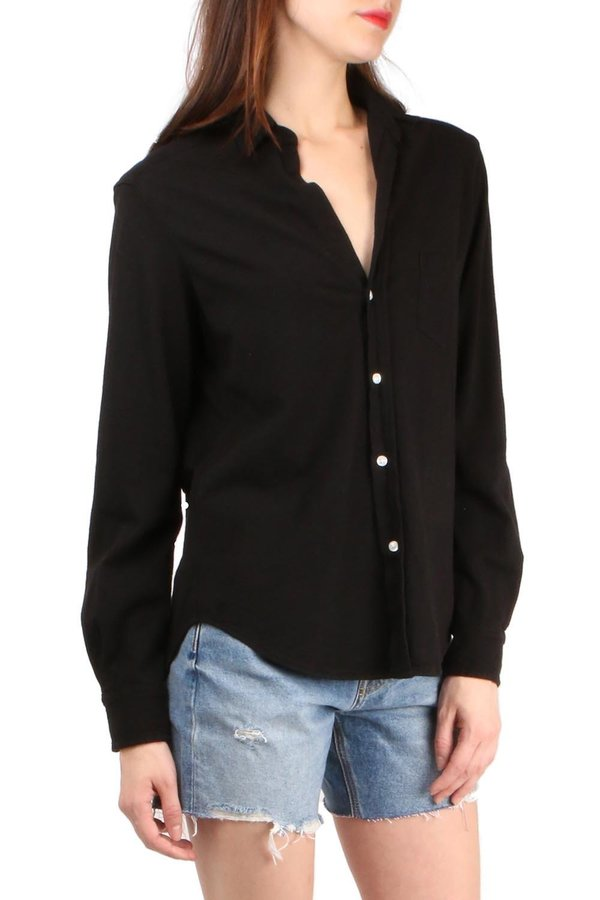 Tee Lab Button Down Shirt - Blackout