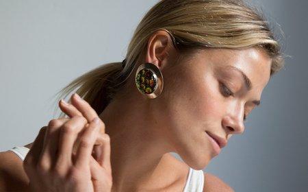 Kindred Black Kosmeen Earrings - sterling silver