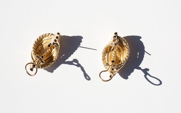 Kindred Black La Paiva Earrings - 14k Gold